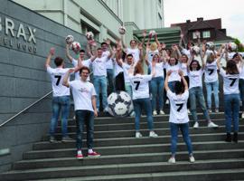 Das BRAX Team fiebert der Fußball EM entgegen