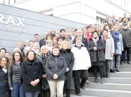 BRAX ehrt langjährige Mitarbeiter für 1850 Jahre Verbundenheit