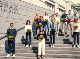 Ten new apprentices start their professional life