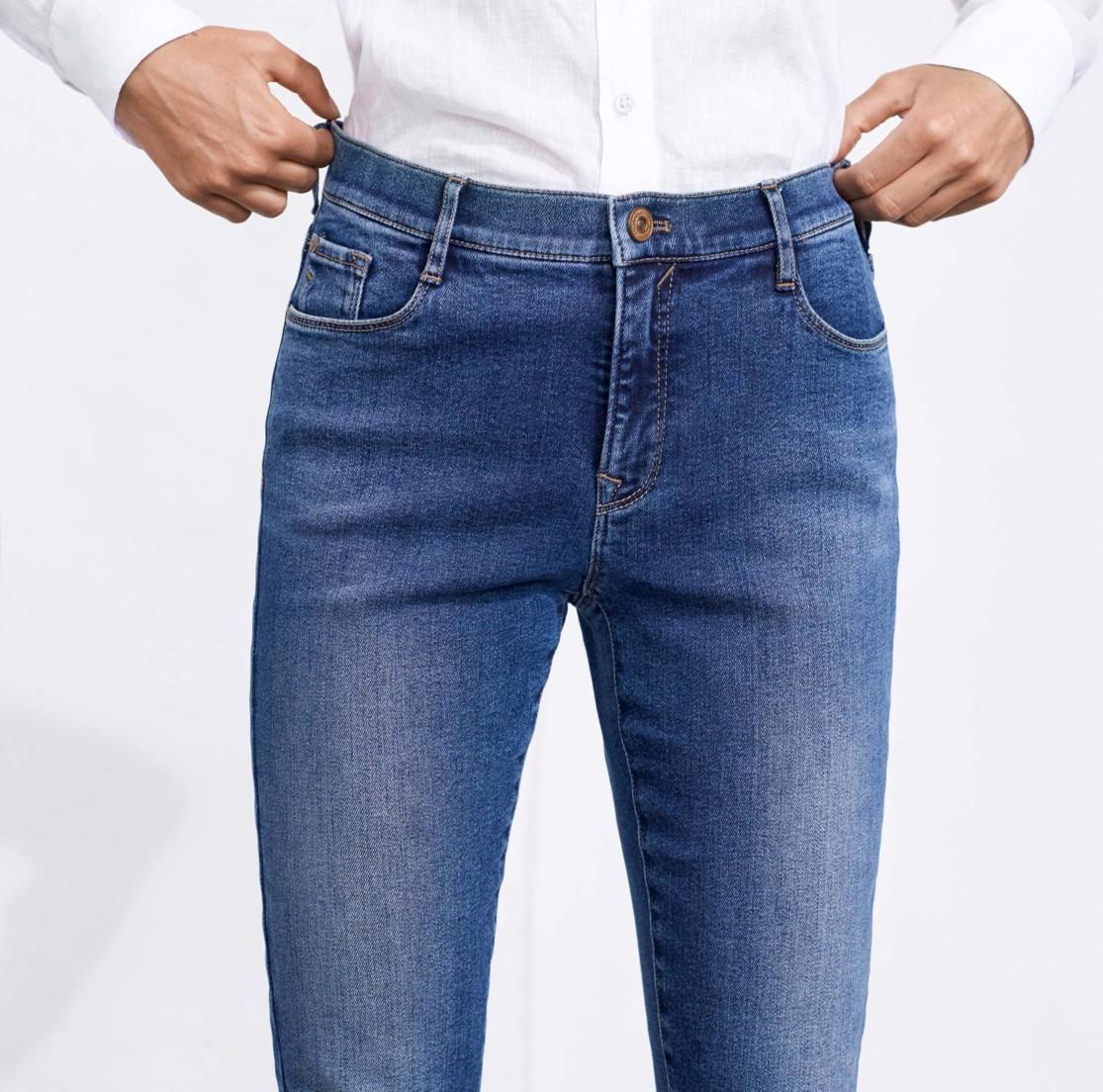 skinny jeans dames hoog model