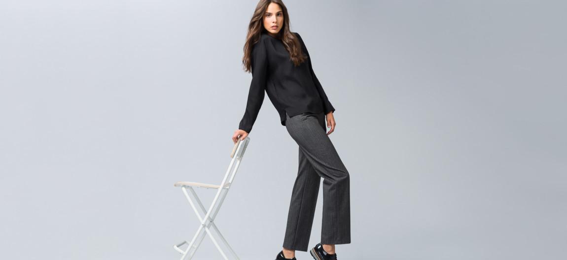 2d8ccb9be0 Trendige weite Damenhosen jetzt online kaufen | BRAX