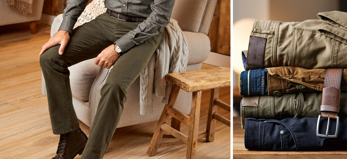 store newest collection 50% price EUREX Herrenhosen in perfekter Passform jetzt entdecken | BRAX